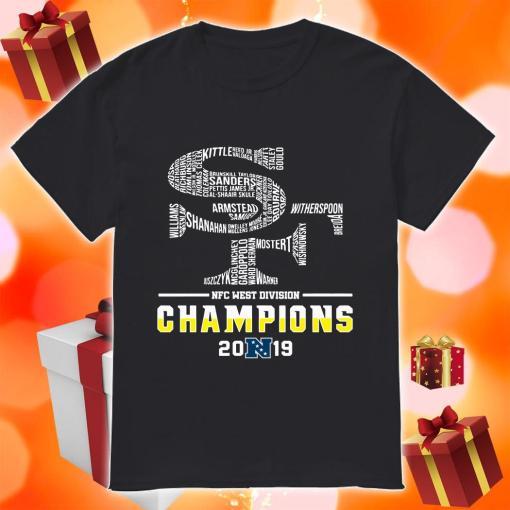 San Francisco 49ers NFC West Division Champions 2019 shirt