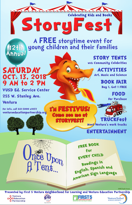 storyfest poster for VEP