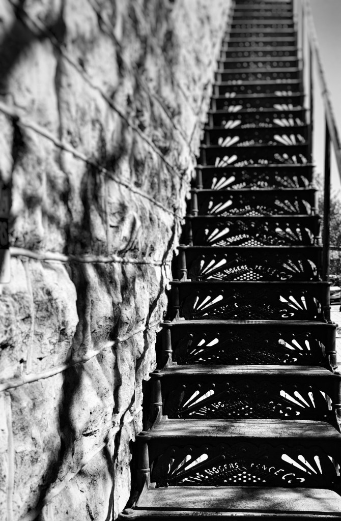 stairs downtown Georgetown