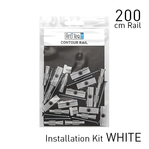 contour rail fastener kit