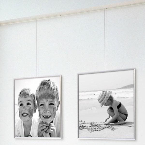 ArtiTeq Classic Rail Gallery Hanging Set 2m