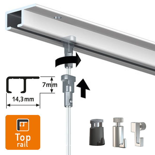 Artiteq Top Rail