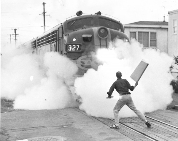 Image result for stopping troup trains august 6 1965