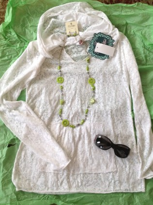 My new shirt and necklace found at the neatest little shop in downtown Rapid City, Untamed Accessories and Clothing.