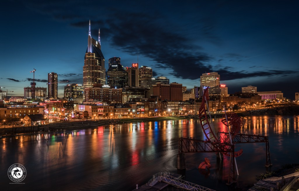 Nashville, Tennessee at Night