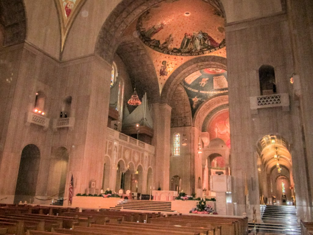 Chapel dedicated to Mary, our Lady of Guadalupe at the Basilica of the National Shrine of the Immaculate Conception