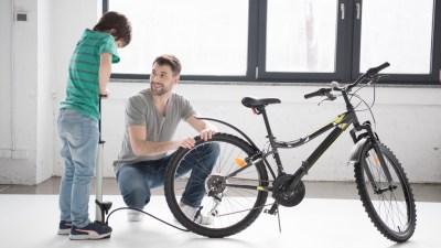 kerékpár guminyomás