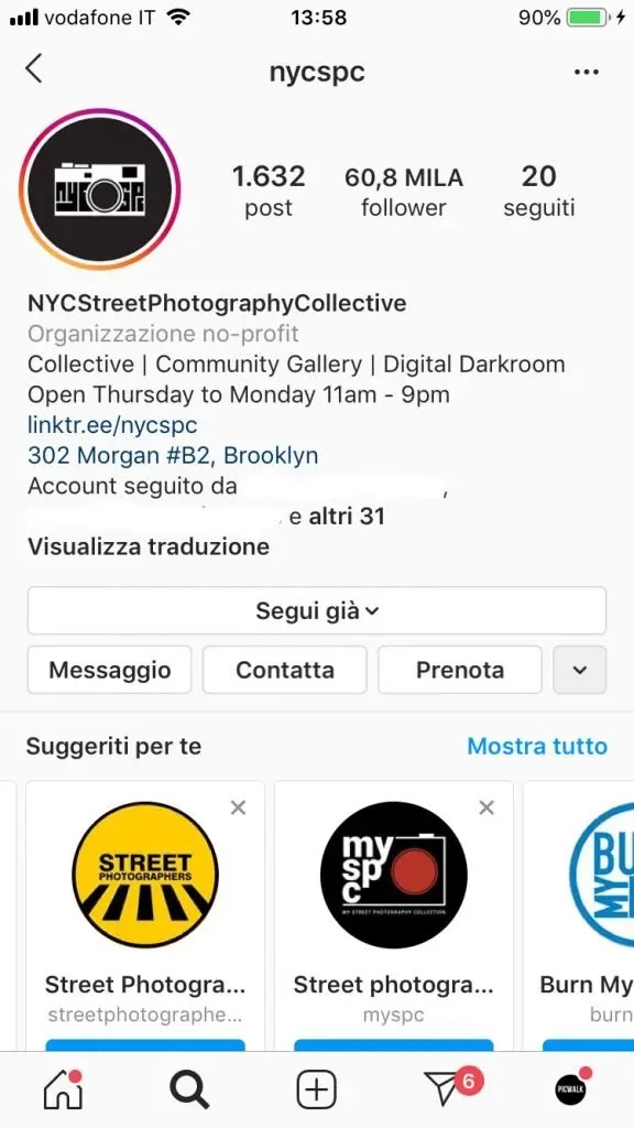 Street Photography tecnica - Instagram