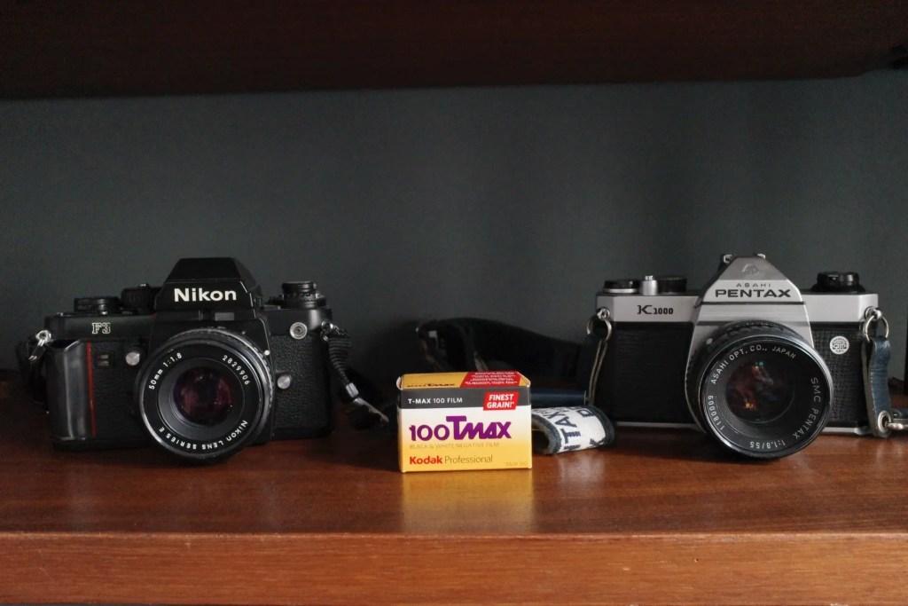 Fotografia in bianco e nero - Nikon F3 - Pentax K1000