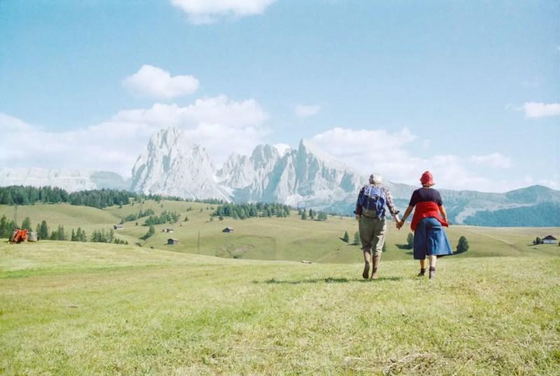 Luigi Ghirri, 1979 - L'alpe di Siusi