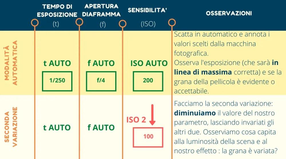 Infografica esercizi variazione 2