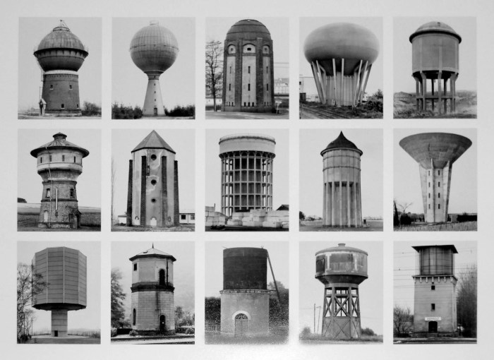 Bernd and Hilla Becher, Water Towers 1972