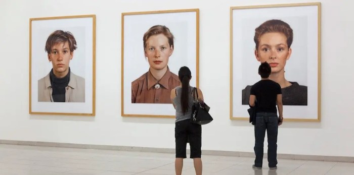 Thomas Ruff - ritratti