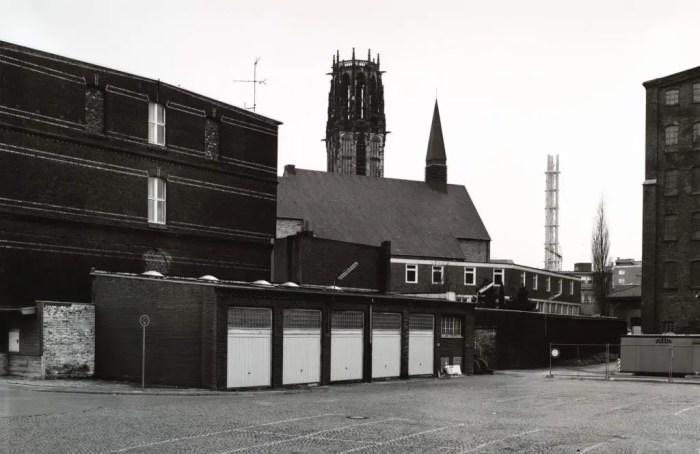 Thomas Struth, View of Saint Salvator, Duisburg, 1985