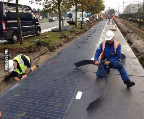 オランダの発電道路 - 1