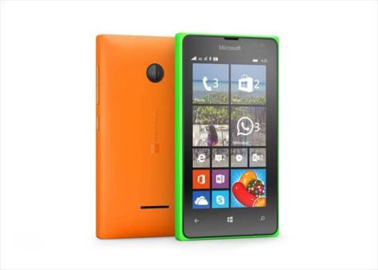 Lumia 532 と 435
