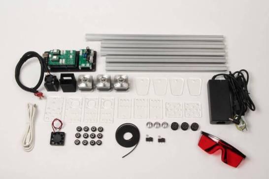 Smart Laser Mini - キット状態の図