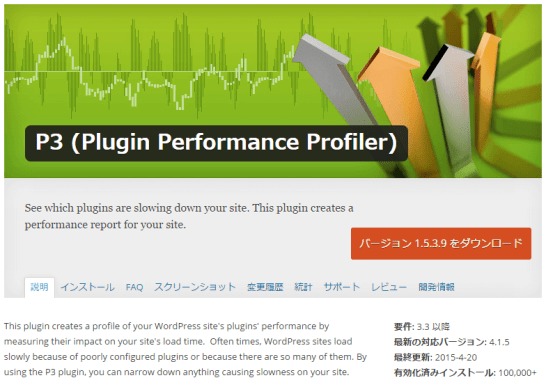 P3 - Plugin Performance Profiler