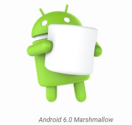 Android 6.0 Marshmallow - マスコット