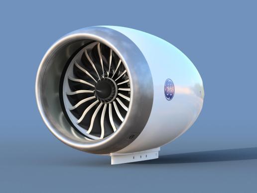 Boeing 787 turbofan - http://www.rcgroups.com/