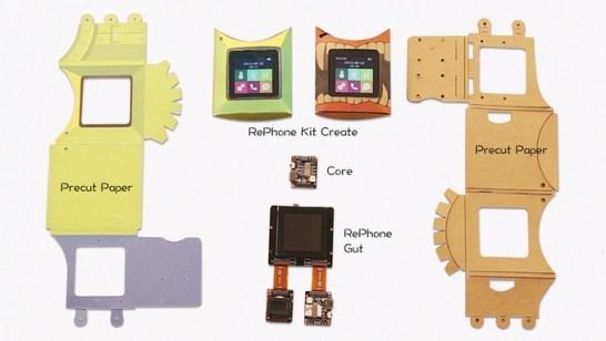 RePhone Kit (自分で組み立てる携帯電話)