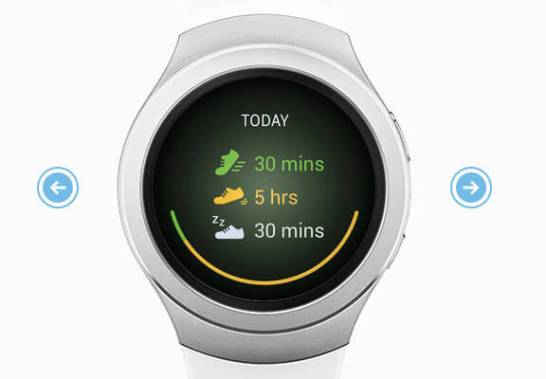 Gear S2 - 24-Hour Overview