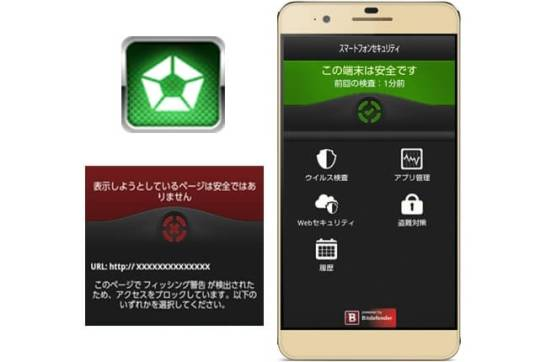 スマートフォンセキュリティ - 楽天モバイル(オプション) © SOURCENEXT CORPORATION