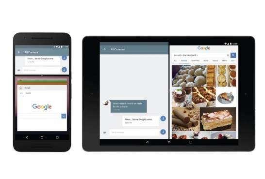 Android N - マルチウインドウ