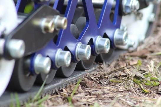 "Designed for the dirt: The electric ""off-rad rollerblades"" by Jack Skopinski."