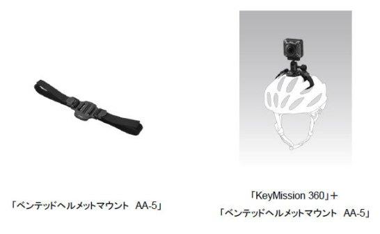 ベンテッドヘルメットマウント AA-5