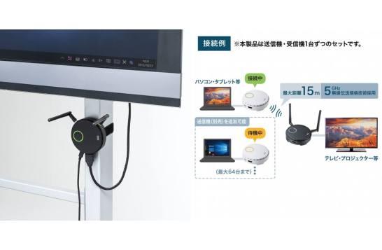 ワイヤレスHDMIエクステンダー - サンワサプライ