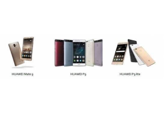 SIMフリースマートフォン2016年BCNランキング上位独占 - HUAWEI
