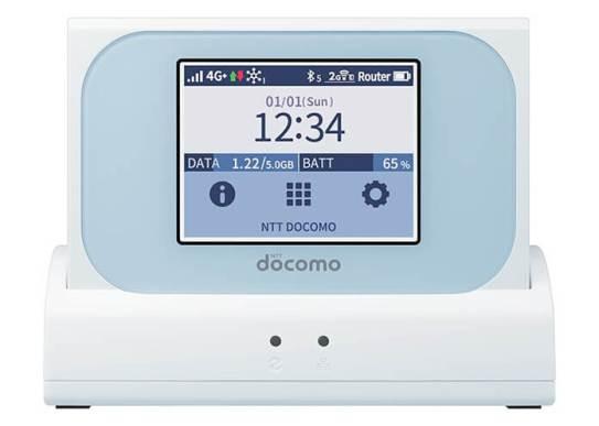 Wi-Fi STATION N-01J - NTT ドコモ
