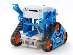 タミヤ「カムプログラムロボット工作キット」を先行販売