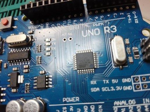 SMD を採用した Arduino