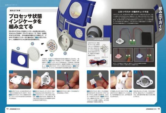 精巧な1/2スケール!本格的多機能ドロイド!週刊『スター・ウォーズ R2-D2』が2018年1月4日創刊(デアゴスティーニ・ジャパン)