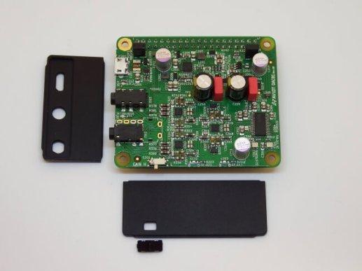 ハイレゾ再生・バランス接続に対応したヘッドホンアンプ/DACボード「DAC 01」