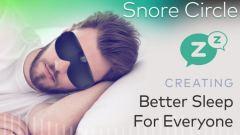 Snore Circle Smart Eye Mask / スノアサークル スマートアイマスク
