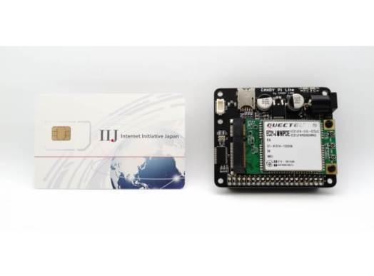 IIJモバイルサービス/タイプI SIMカードとCANDY Pi Lite LTE