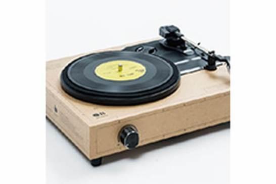 DIYレコードプレーヤーキットSPINBOX