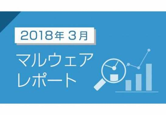 2018年3月のマルウェア検出レポートを公開 - キャノンITソリューションズ