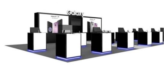 「Galaxy Studio (ショールーム型)」 イメージ