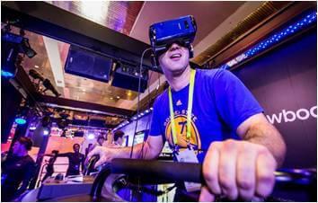VR Snowboard