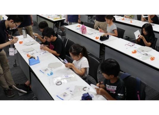 小学生向けの夏休み特別セミナー『ものづくり教室』を開催