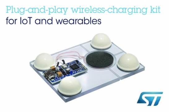 プラグ・アンド・プレイ型の超小型ワイヤレス充電器開発キットを発表
