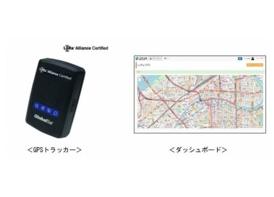 GPSトラッカー・ダッシュボード