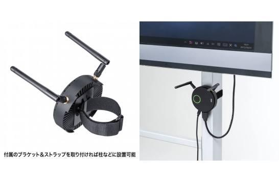 USB Type-C搭載パソコンの映像&音声をワイヤレス出力するHDMIエクステンダーを発売。