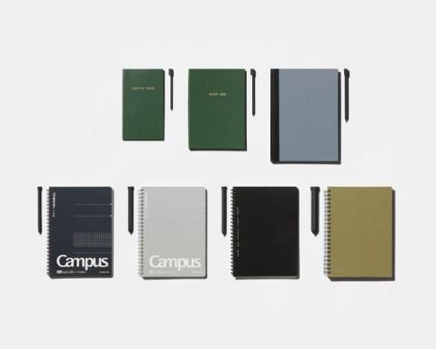 コクヨのノートの側面にぴったりはまる筆記具