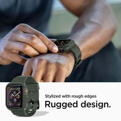 Apple Watch 用タフネスケース - 「ラギッド・アーマー プロ」の新色ミリタリー・グリーン