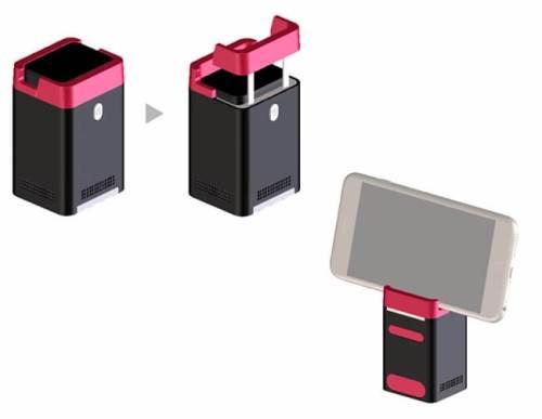 レーザープロジェクション式キーボード - Serafim Keybo